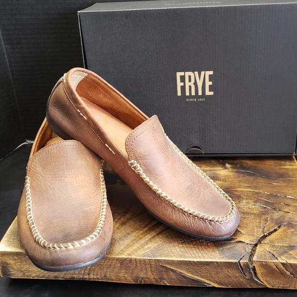 Frye Lewis Venetian Loafers